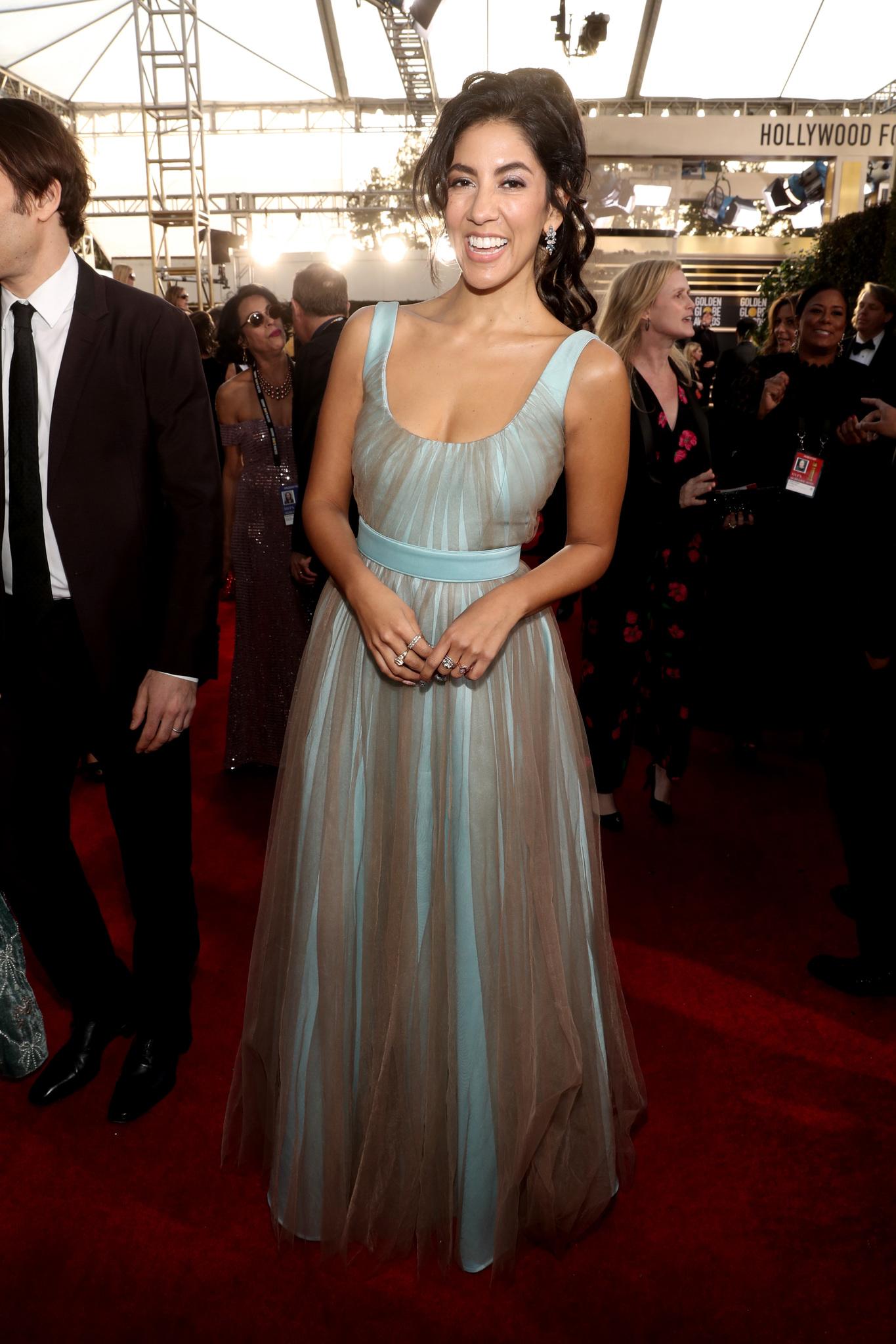 Stephanie Beatriz at an event for 2019 Golden Globe Awards (2019)