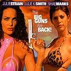 Julie Strain and Shae Marks in L.E.T.H.A.L. Ladies: Return to Savage Beach (1998)