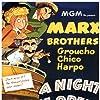 Groucho Marx, Kitty Carlisle, Allan Jones, Chico Marx, and Harpo Marx in A Night at the Opera (1935)