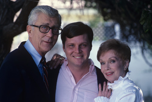 Herbert Anderson, Gloria Henry, and Jay North