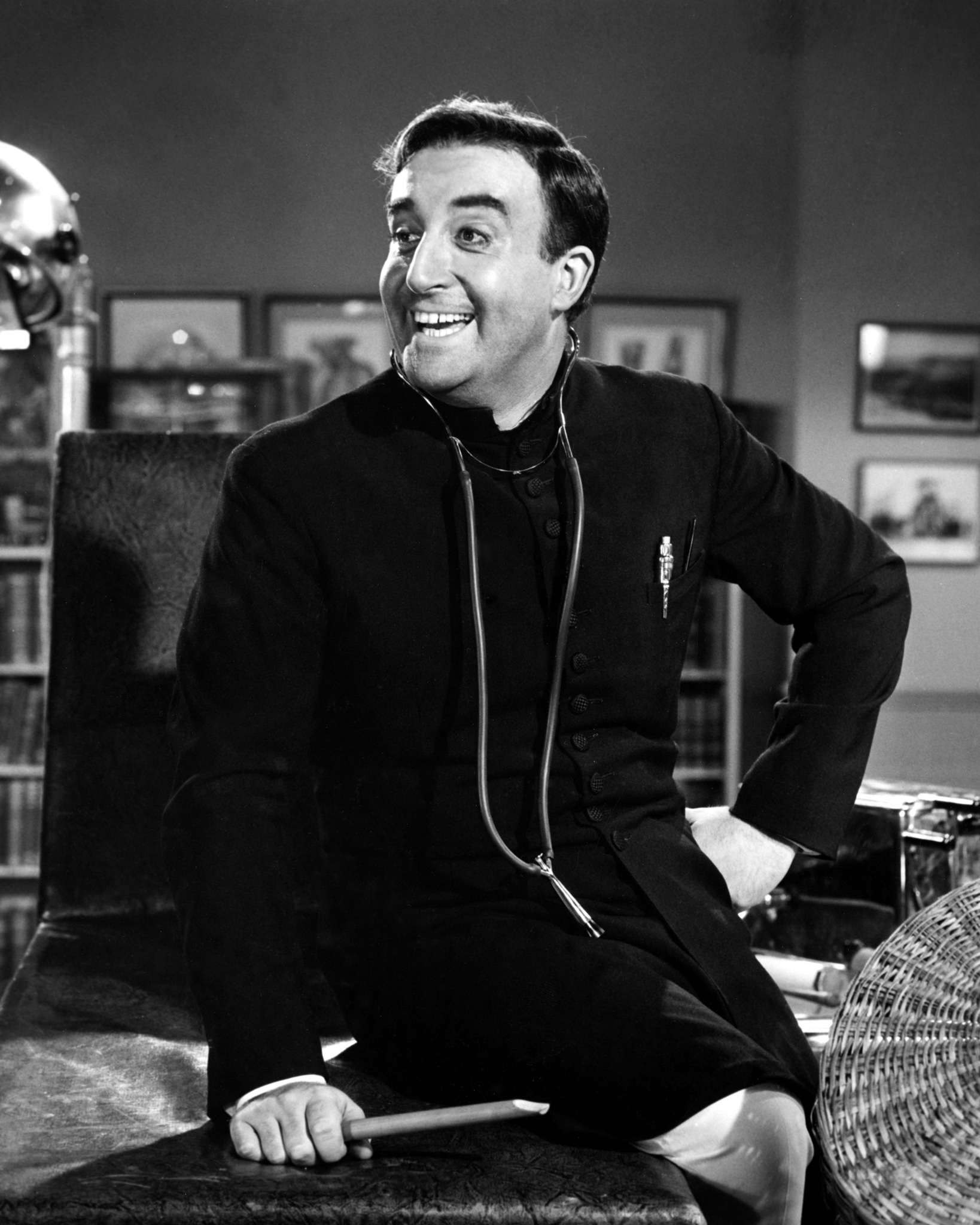 Peter Sellers in The Millionairess (1960)