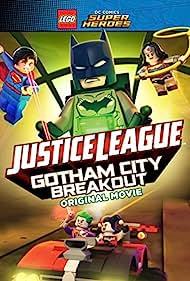 Tara Strong, Grey Griffin, Nolan North, Jason Spisak, and Troy Baker in Lego DC Comics Superheroes: Justice League - Gotham City Breakout (2016)