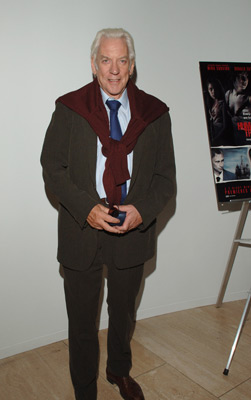 Donald Sutherland at an event for Human Trafficking (2005)