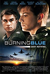 A site for downloading movies Burning Blue USA [480i]