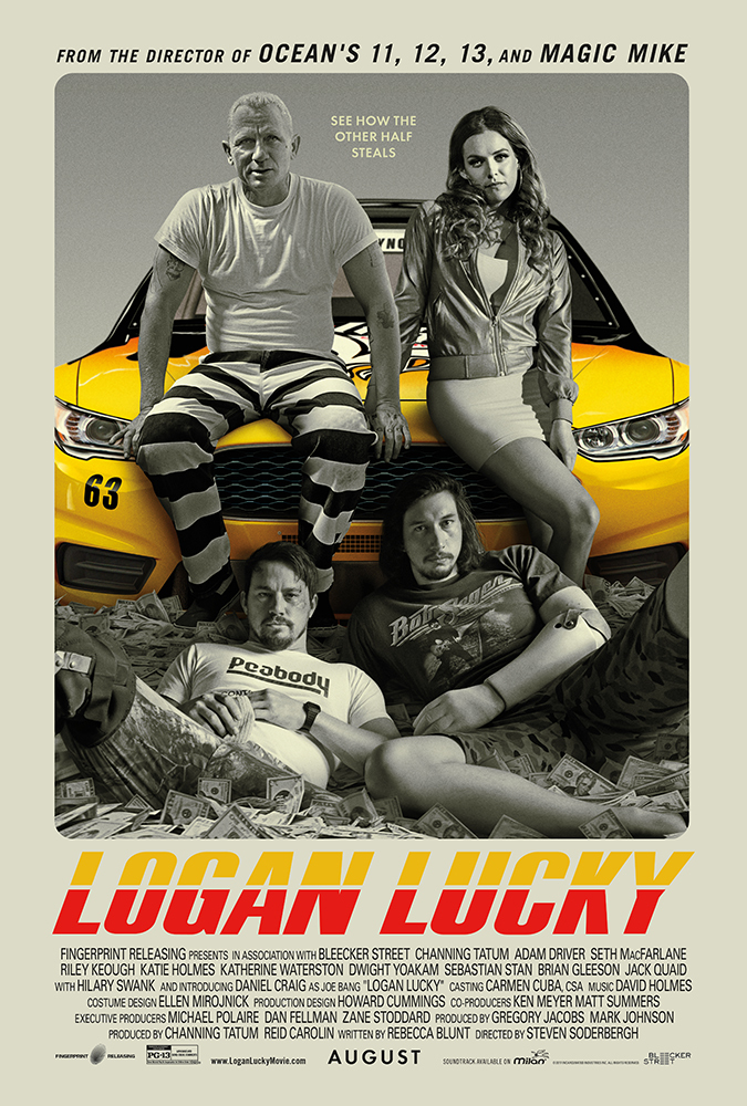 Poster Film Logan Lucky