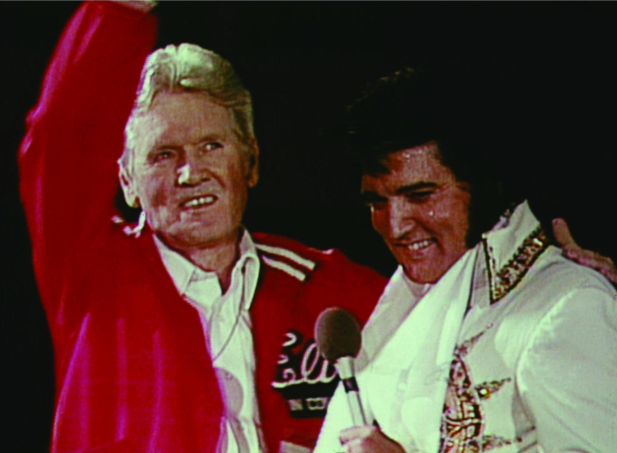 Elvis Presley and Vernon Presley in This Is Elvis (1981)