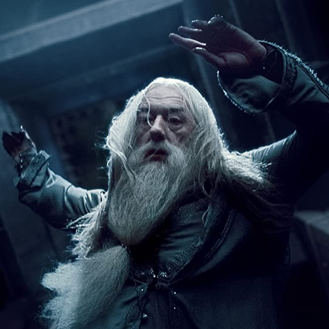 Michael Gambon in Harry Potter and the Deathly Hallows: Part 1 (2010)