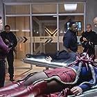 Peter Facinelli, David Harewood, Chyler Leigh, Mehcad Brooks, and Melissa Benoist in Supergirl (2015)