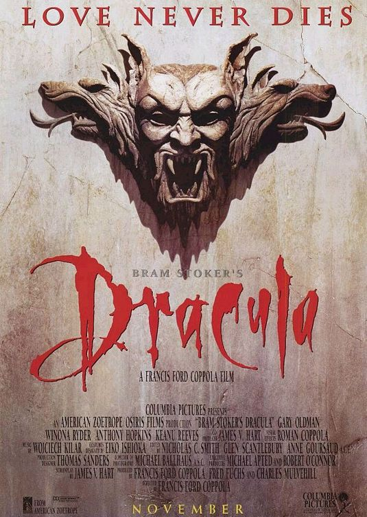 Bram Stocker's Dracula movie poster