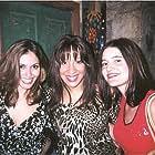 Farah White, Silvia Ryenn and Darylin Nagy at the Screen Door Jesus wrap party in Austin, TX