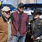 Willie Nelson, Toby Keith, and Rodney Carrington in Beer for My Horses (2008)