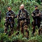 Bruce Willis, Paul Francis, Cole Hauser, Johnny Messner, and Eamonn Walker in Tears of the Sun (2003)