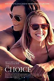 Benjamin Walker and Teresa Palmer in The Choice (2016)