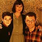 The Lender family - Peter (Bradley Pierce), Victoria (Doon Mackichan) and Joe (Aden Gillett).