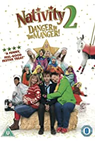 Joanna Page, David Tennant, Jason Watkins, and Marc Wootton in Nativity 2: Danger in the Manger! (2012)