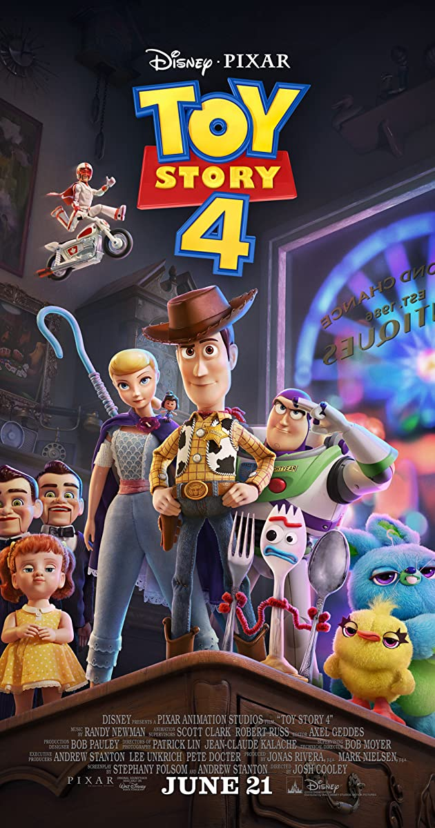 Toy Story 4 (2019) [BluRay] [1080p] [YTS.LT]