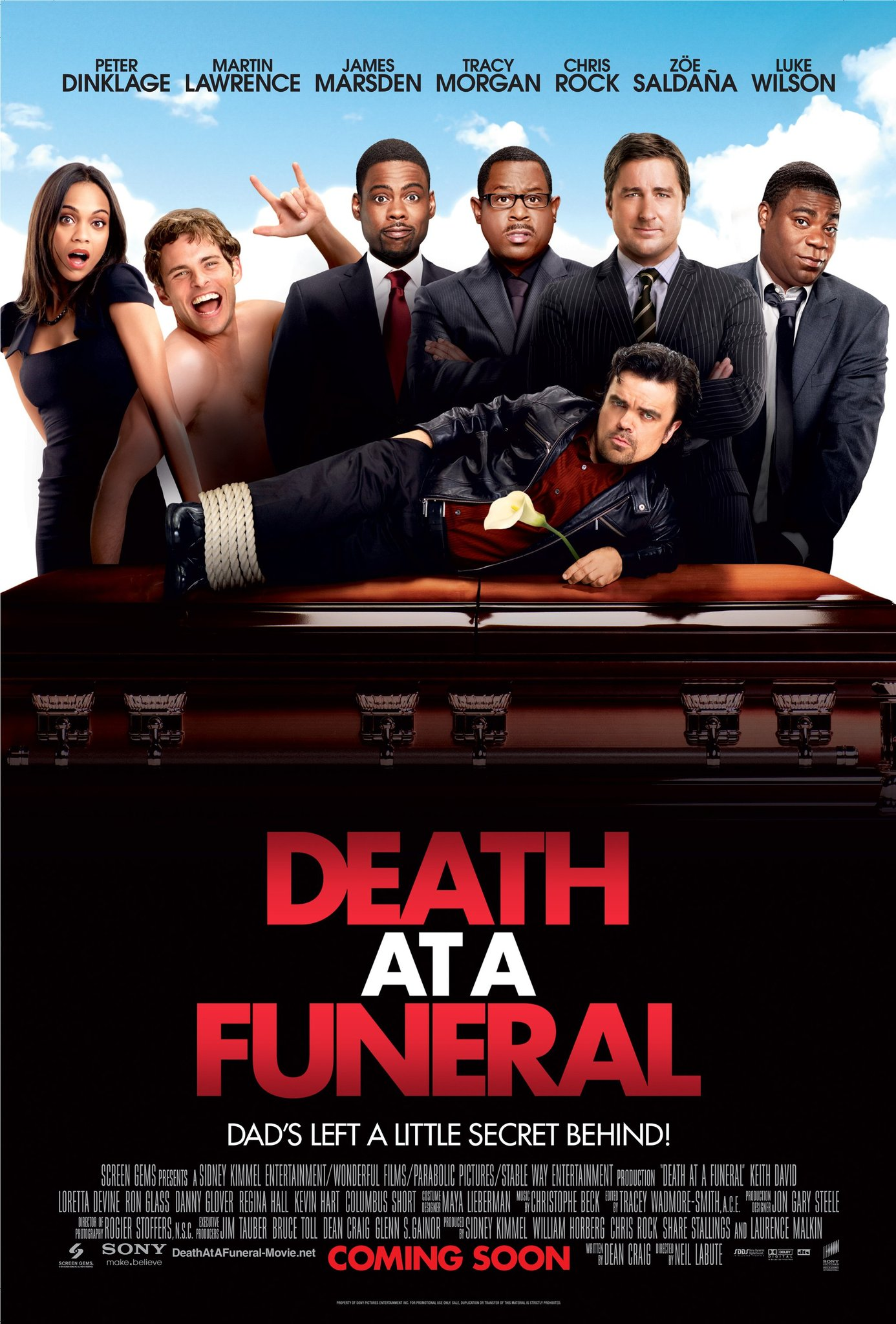Death At A Funeral (2010) 720p BluRay x264 ESubs AC3 Dual Audio [Hindi DD2.0 + English DD2.0] 930MB Download | Watch Online