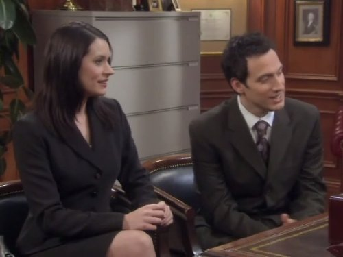 Paget Brewster and Elon Gold in Stacked (2005)