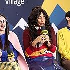 Demi Moore, Jessica Williams, and Karan Soni at an event for The IMDb Studio at Sundance (2015)