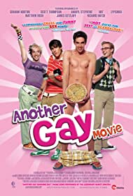 Jonah Blechman, Jonathan Chase, Michael Carbonaro, and Mitch Morris in Another Gay Movie (2006)