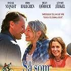 Frida Hallgren, Michael Nyqvist, and Helen Sjöholm in Så som i himmelen (2004)