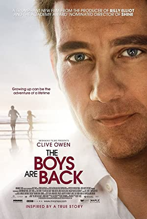 The Boys Are Back Poster Image
