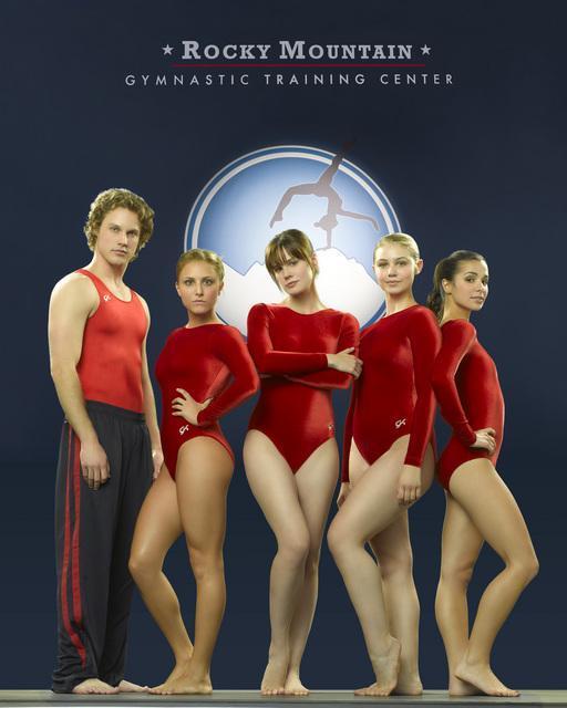 Chelsea Hobbs, Ayla Kell, Josie Loren, Cassandra Scerbo, and Zachary Abel in Make It or Break It (2009)