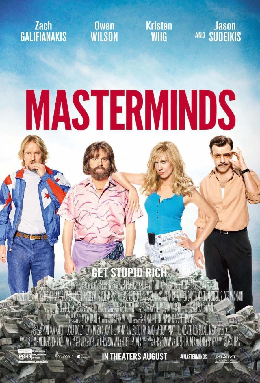 Masterminds (2016) Hindi Dubbed