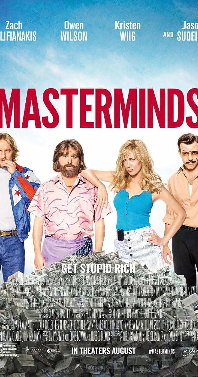 Kẻ Chủ Mưu – Masterminds (2016)