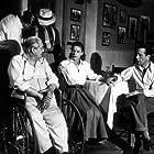 """Key Largo"" Lionel Barrymore, Lauren Bacall, and Humphrey Bogart 1948 Warner Bros."