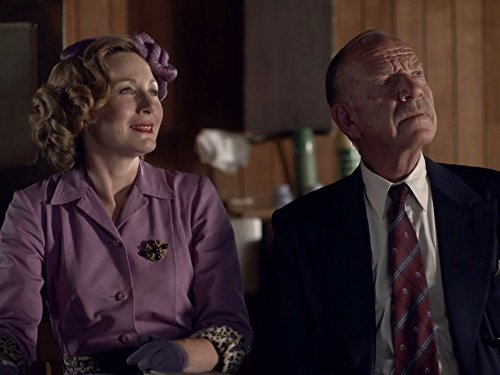 Nancy Carroll and Tom Chadbon in Father Brown (2013)