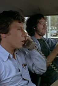 Daryl Anderson and Robert Walden in Lou Grant (1977)