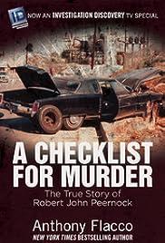 A Checklist for Murder Poster