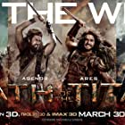 Ralph Fiennes, Liam Neeson, Rosamund Pike, Sam Worthington, Edgar Ramírez, and Toby Kebbell in Wrath of the Titans (2012)