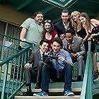 Jorge Garcia, Anna Kendrick, Cameron Richardson, Nicholas Braun, Brandon T. Jackson, Alison Brie, Miles Teller, and Christopher Mintz-Plasse in Get a Job (2016)