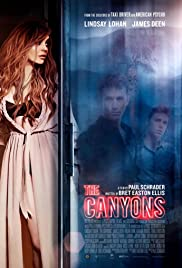 The Canyons Poster