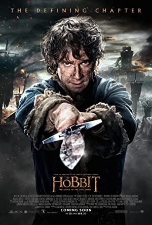 Where to stream The Hobbit: The Battle of the Five Armies