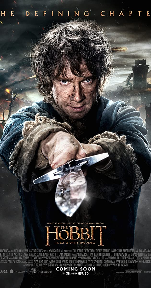 Subtitle of The Hobbit: The Battle of the Five Armies
