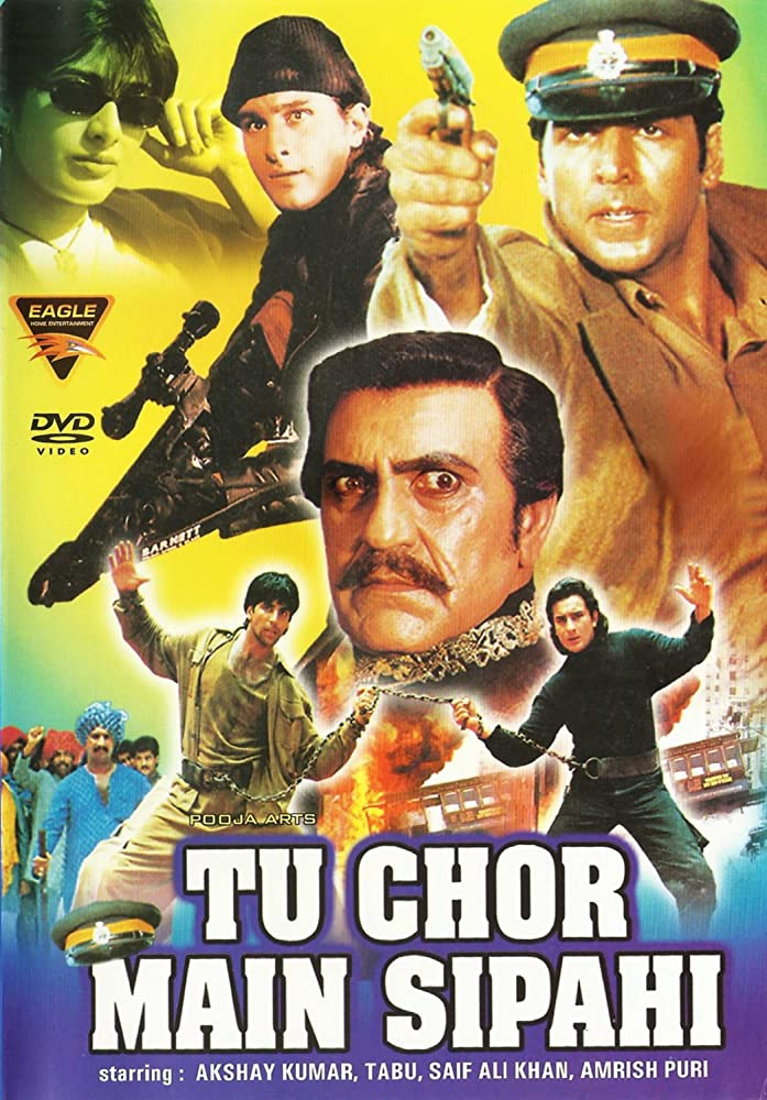 Tu Chor Main Sipahi 1996 Hindi 720p HDRip x264 1GB