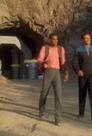 Cirroc Lofton and Alexander Siddig in Star Trek: Deep Space Nine (1993)