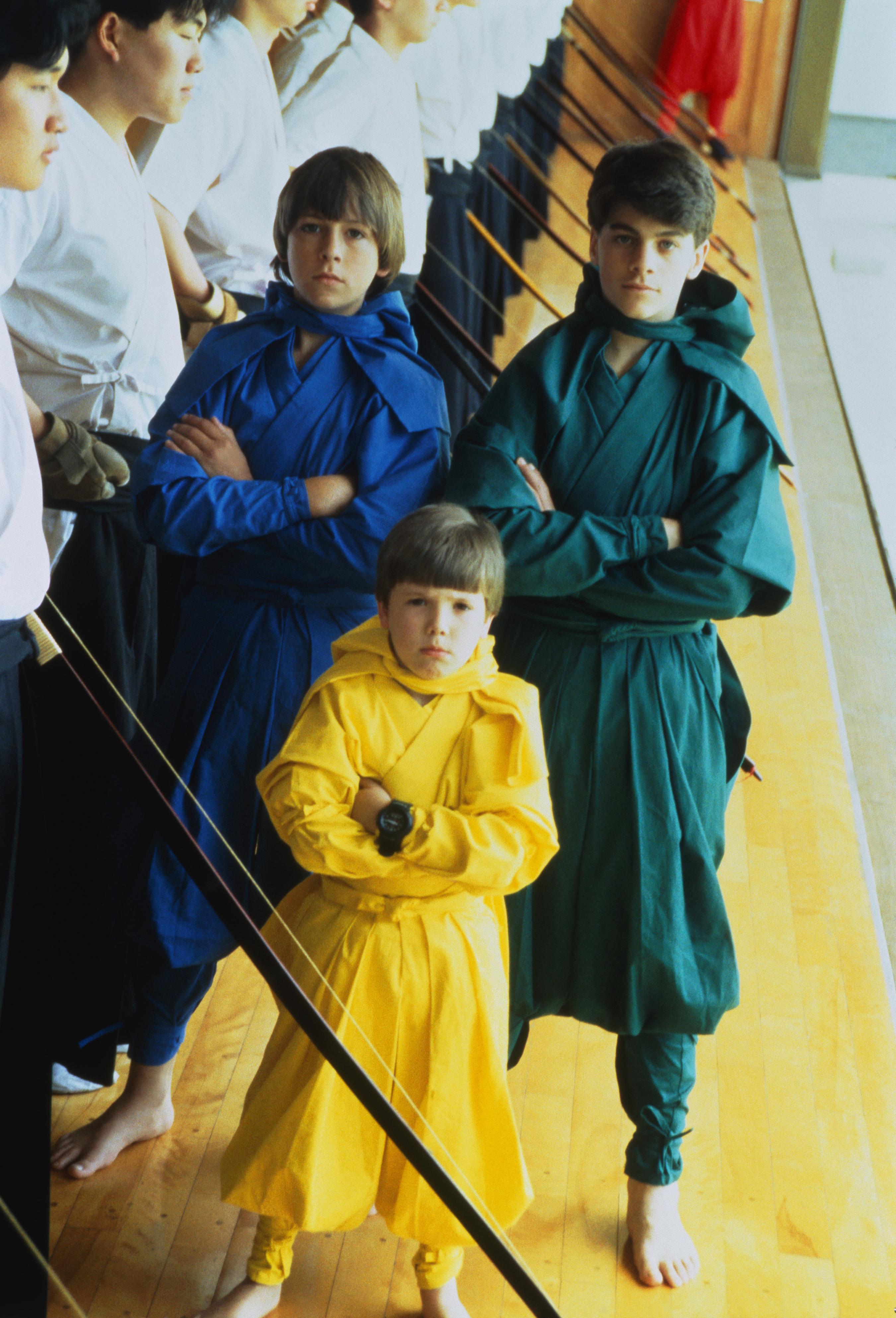 J. Evan Bonifant, Sean Fox, and Max Elliott Slade in 3 Ninjas Kick Back (1994)