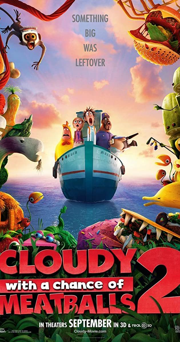 Cloudy with a Chance of Meatballs 2 (2013) - IMDb