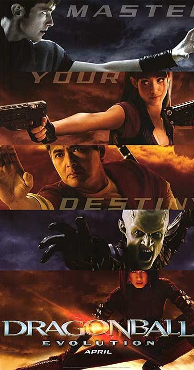 Subtitle of Dragonball: Evolution