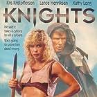 Lance Henriksen, Kris Kristofferson, and Kathy Long in Knights (1993)