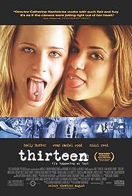 Evan Rachel Wood and Nikki Reed in Thirteen (2003)