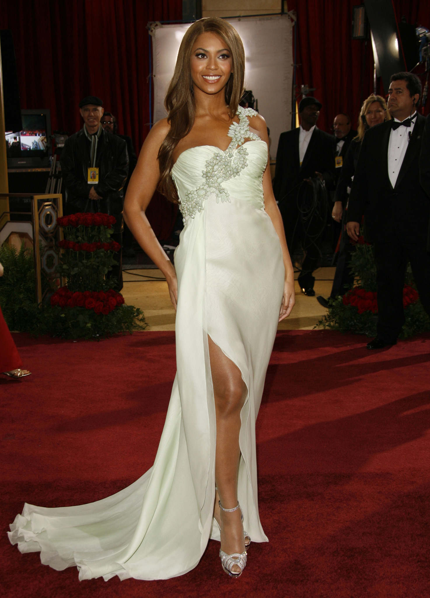 Beyoncé at an event for The 79th Annual Academy Awards (2007)