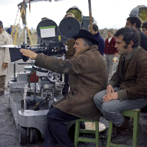 Federico Fellini in Fellini - Satyricon (1969)