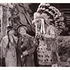 Mitchell Lewis and Harpo Marx in Go West (1940)