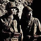Kazunari Ninomiya and Ryô Kase in Letters from Iwo Jima (2006)