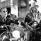 Don Johnson and Mickey Rourke in Harley Davidson and the Marlboro Man (1991)